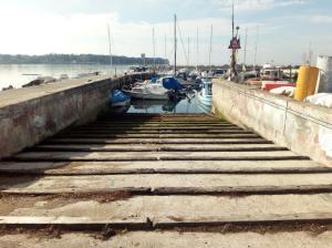 il moletto della baia di San Bartolomeo
