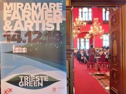 Farmer & Artist in Sala del Trono a Miramare